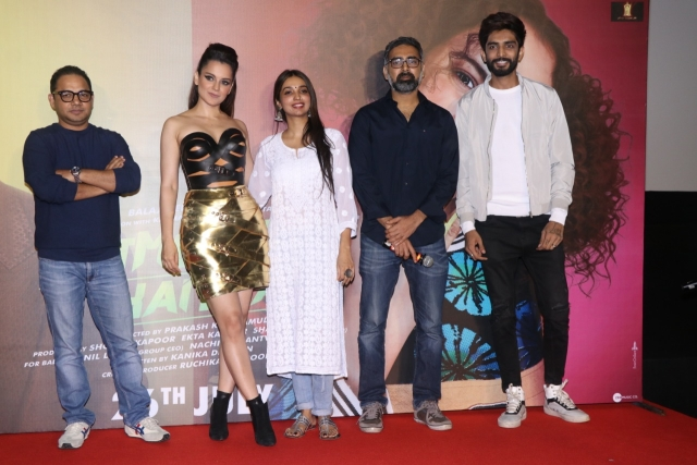 Kangana and the team of <i>Judgementall Hai Kya.</i>