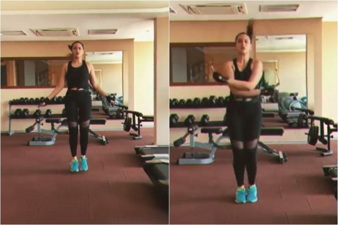 Watch: Sonakshi Gives #FitnessGoals with Her Viral Skipping Video