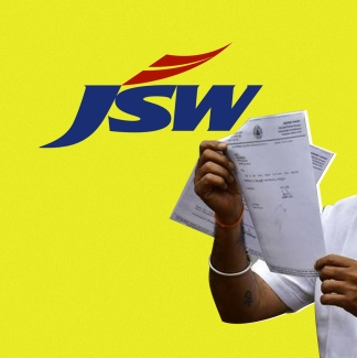 Anand Singh has submitted his resignation over the JSW land deal.