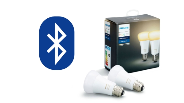 Philips Hue bulbs will not come with Bluetooth receiver built in.