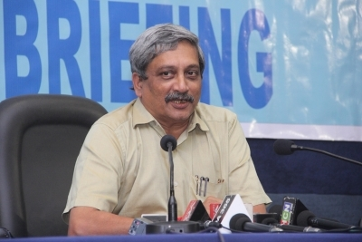 Parrikar's samadhi site defiled, protesters ate non-veg food: BJP