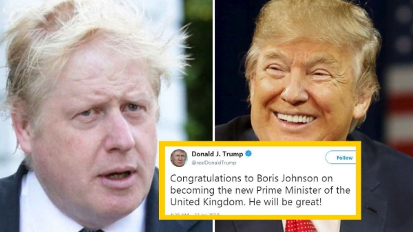 'Boris Johnson is the UK Trump,' Says Twitter On the New UK PM