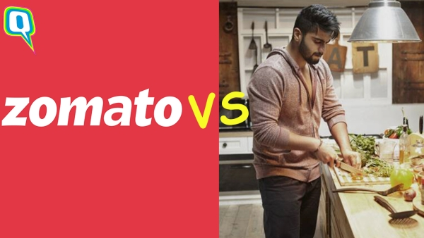 Zomato vs home-cooked food.