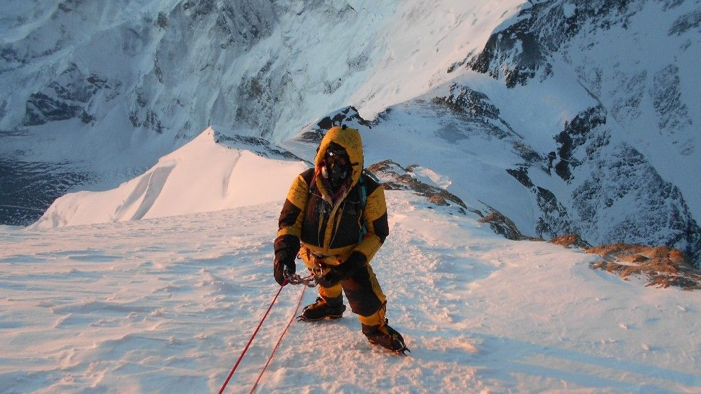 Climbing Everest is the Greatest Challenge a Person Can Attempt