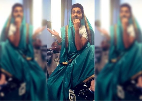 Ayushmann Joins the #SareeTwitter Game & Steals the Show