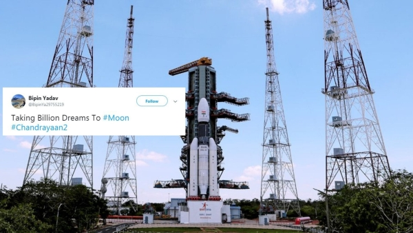 Chandrayaan-2  launched at 2:43 pm on Monday from the second launchpad at the Satish Dhawan Space Centre in Sriharikota.