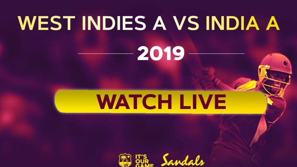 India A vs West Indies A Live Streaming Online, Ind A vs WI