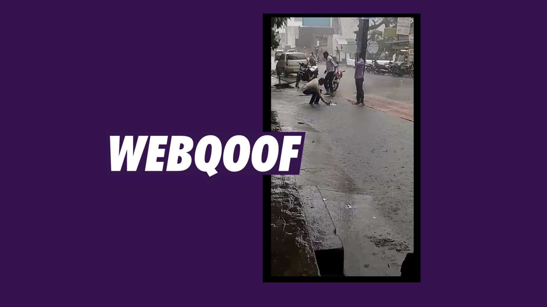 Video of Two-Wheeler 'Falling in Huge Pothole' Isn't From Mumbai