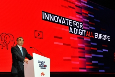 Huawei chairman upbeat about firm's sustainable development