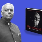 Image of Yashwant Sinha and his book, used for representational purposes.