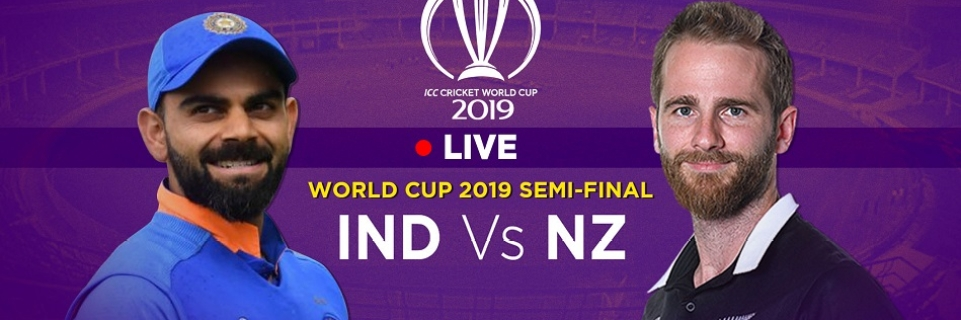 Ind Versus Nz India Vs New Zealand World Cup 2019 Match