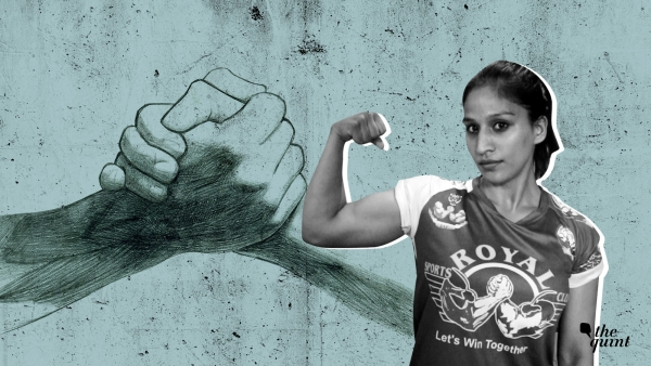 Puja Bisht is an arm-wrestler from Delhi.