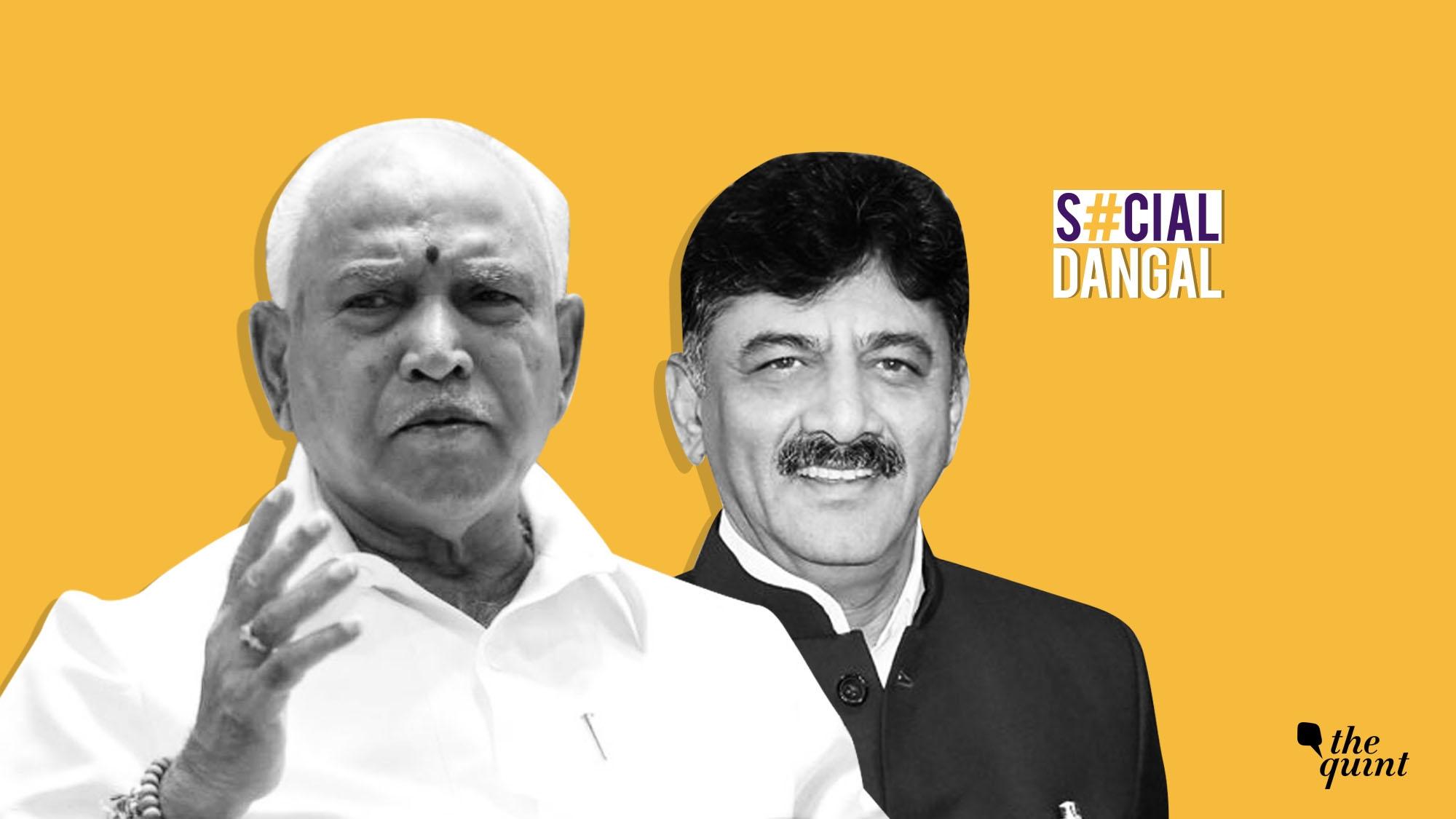 BJP Kidnaps MLAs, Shivakumar a Fighter: Twitter On K'taka Crisis