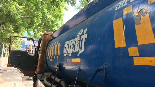 The Tamil Nadu Private Water Tanker Lorry Owners' Association has announced an indefinite strike beginning 8 July.