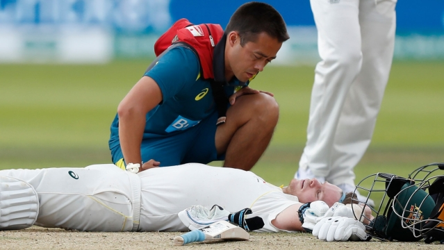 After Steve Smith was struck on his neck by a ferocious Jofra Archer bouncer at Lord's, he was ruled out from the third Test because of concussion.