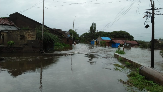Rain damage in North Karnataka