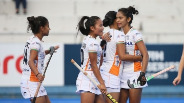 The Indian women hockey team won the Olympic Test event with a 2-1 win over Japan in the final.