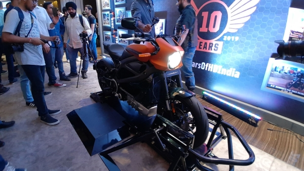 First Look: Harley-Davidson Livewire Electric Bike in India