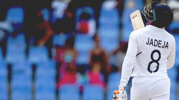Ravindra Jadeja stepped up and scored a 58 off 112 deliveries came when India were struggling at 189/6 in the 1st Test.