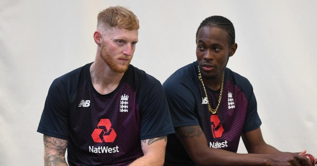 Ben Stokes (left) and Jofra Archer shared the honours for England in the second Test at Lord's.