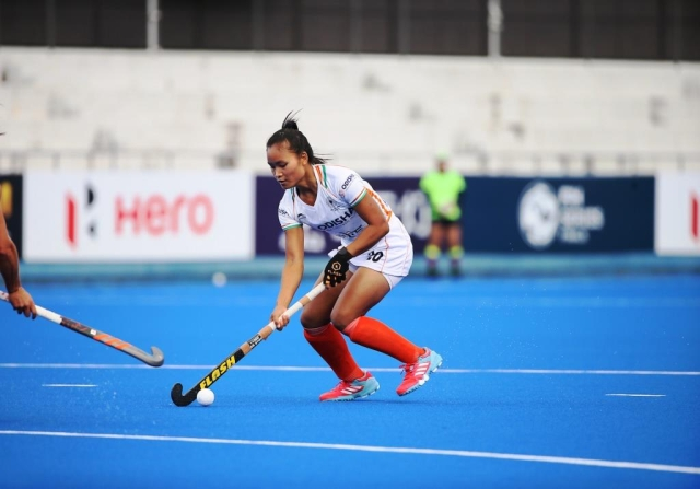 India's young Forward Lalremsiami did not make a mistake in putting the ball into the back of the net to make it 2-1 for India.