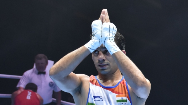 Amit Panghal became the first Indian male boxer to claim a silver medal at the World Championships