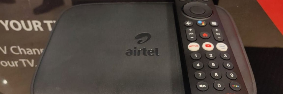 Airtel Launches Xstream TV Box And Stick to Rival JioFiber