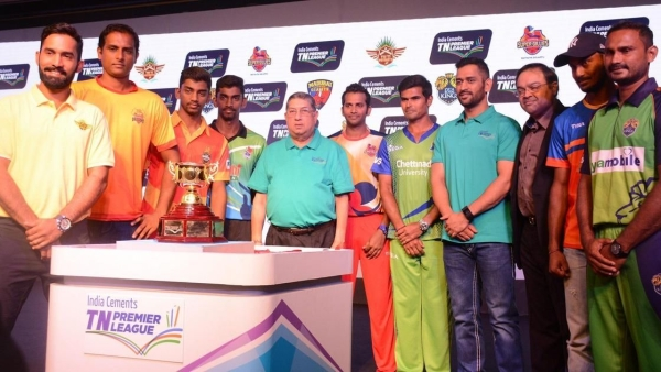 Inaugurated by former India captain MS Dhoni, the eight-team Tamil Nadu Premier League started in 2016.