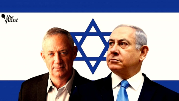 Image of Benny Gantz (L) and Benjamin Netanyahu (R) used for representational purposes.