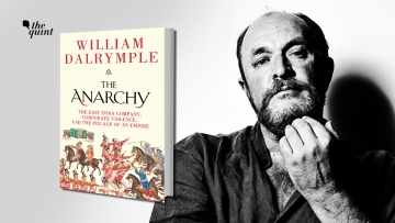 Image of historian William Dalrymple and his latest book 'The Anarchy' used for representational purposes.