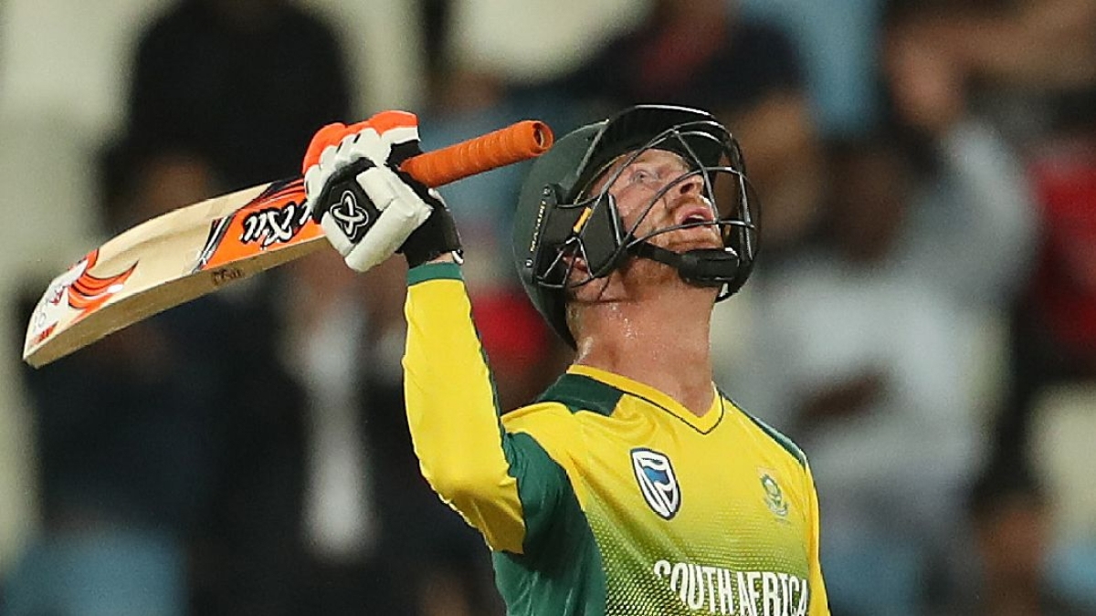 Heinrich Klaasen scored 41 runs off just twelve balls off Yuzvendra Chahal at Centurion on 21 February 2018.