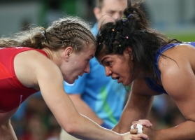Sakshi Malik Out of World Championships After First Round Defeat