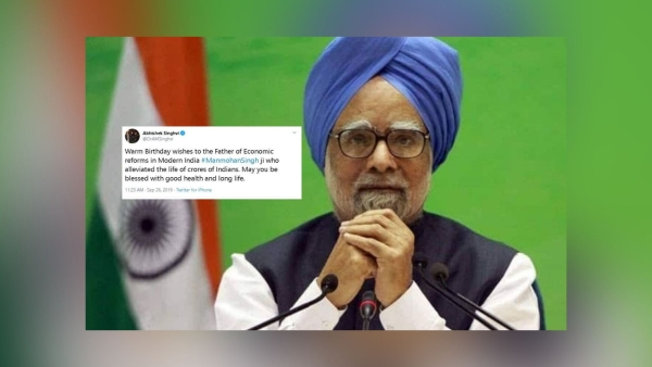 Twitter Heaps Praise On Former PM Manmohan Singh On His Birthday