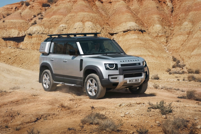 The Land Rover Defender 110 can be had with a list of 170 individual accessories to make it a complete expedition vehicle.