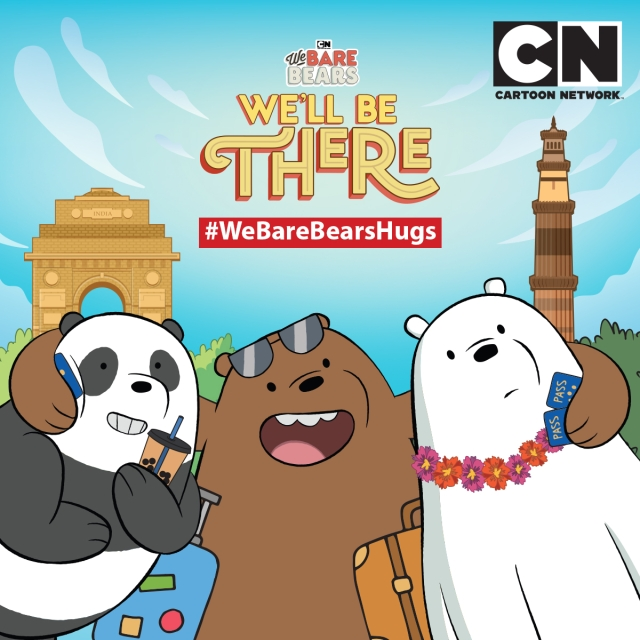 It's bear hug time - Cartoon Network's popular We Bare Bears franchise comes to India for the first time