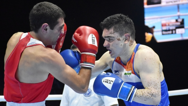 India's Duryodhan Singh Negi lost to Jordan's Zeyad Eashash in the second round of the World Men's Boxing Championship.