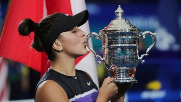 Bianca Andreescu became the first Canadian to win a Grand Slam singles title.