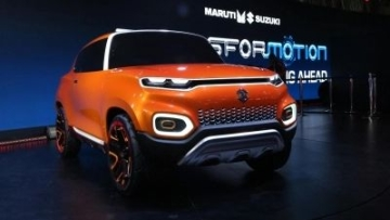 The Maruti Suzuki Concept Future S is the basis for its new small car, the S-Presso that will launch at the end of September.