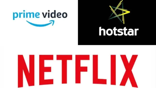 Netflix, Amazon Prime Video and Hotstar are the leading OTT platforms in India.