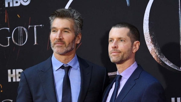<i>Game of Thrones </i>showrunners David Benioff and DB Weiss.