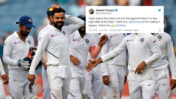 Twitter Elated as India Set to Play Their First Day-Night Test
