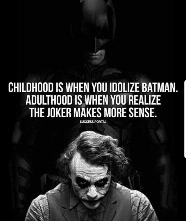 The original Joker meme.