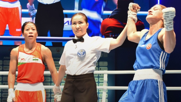 "MC Mary Kom (51kg) asserted that she was ""proud"" of her world championship campaign."