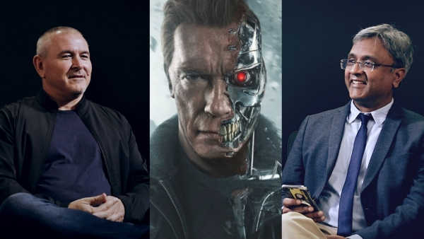 Tim Miller on his upcoming film <i>Terminator: Dark Fate.</i>