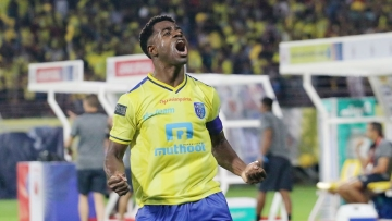 Nigerian striker Bartholomew Ogbeche strcuk a brace to help Kerala Blasters beat ATK 2-1 in the opening match of the Indian Super League.