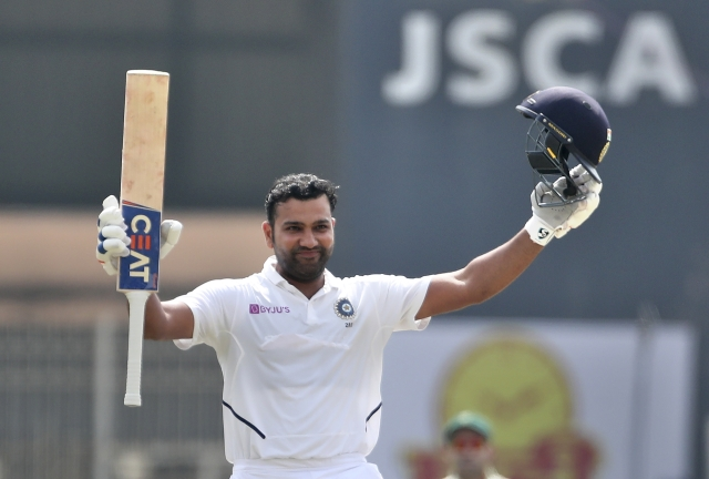 Rohit Sharma smashed six sixes and 28 boundaries on the way to 212 from 255 balls, breaking a slew records in the process.
