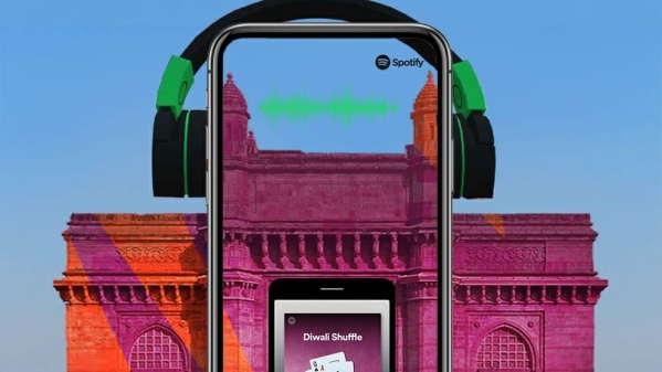 Spotify Makes Diwali Groovier With Snapchat's Popular Landmarker