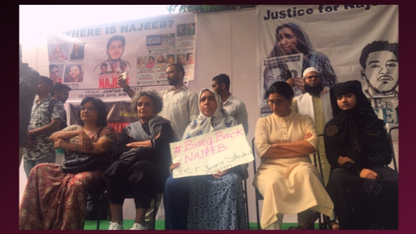 Najeeb's mother, Fatima Nafees, is demanding answers from the Home Ministry three years after he went missing.
