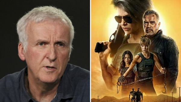 James Cameron is producer <i>Terminator: Dark Fate</i>.