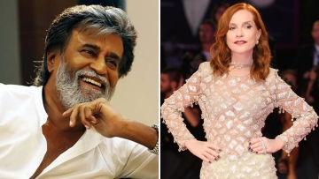 Rajinikanth (L) and Isabelle Huppert (R) to be honoured.